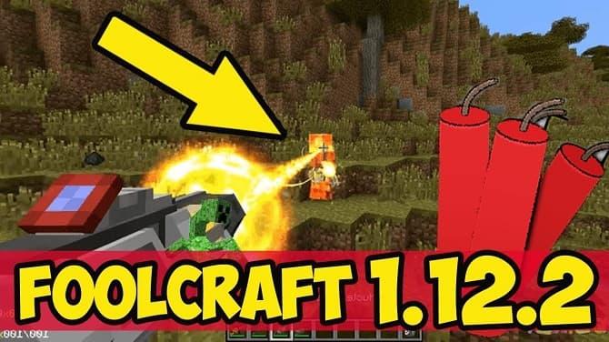FoolCraft 3 modpack 1 12 2 - Minecraft11 com
