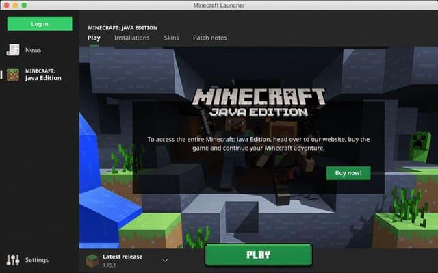 Minecraft Java Edition 1.16.3