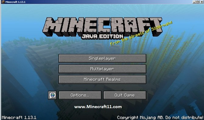 Minecraft tlauncher 1.13.1
