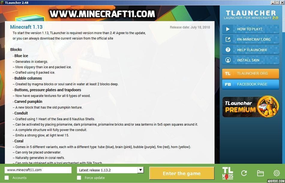 minecraft 1.5 2 update launcher download