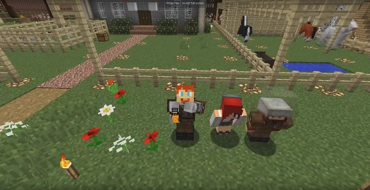 Towncraft-mod-1.12.2-screenshots
