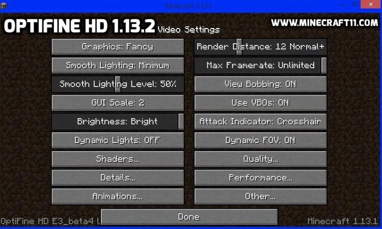 optifine-hd-1.13-video-setttings