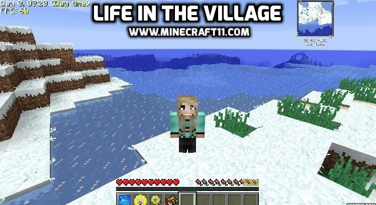Life in the village modpack 1 12 2 - Minecraft11 com