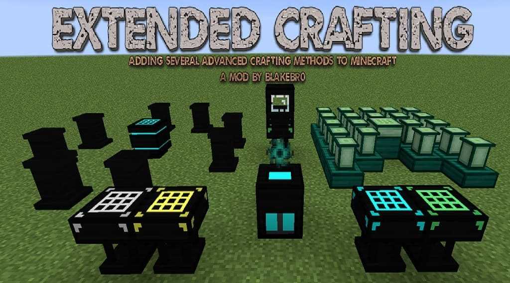 Extended Crafting table mod 1 12 2 - Minecraft11 com