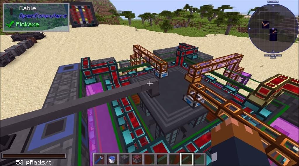 Minecraft NuclearCraft mod 1.12.2