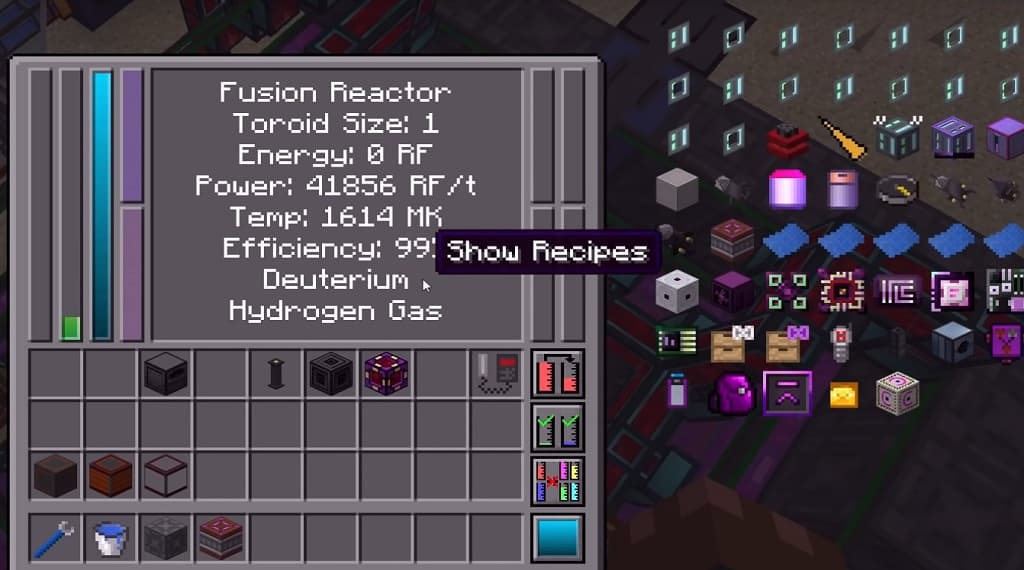 NuclearCraft 1.12.2 crafting