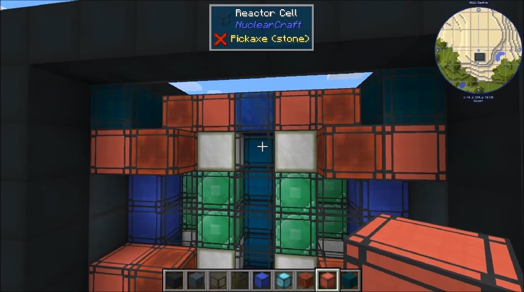 NuclearCraft Solid-Fuel FIssion Reactor