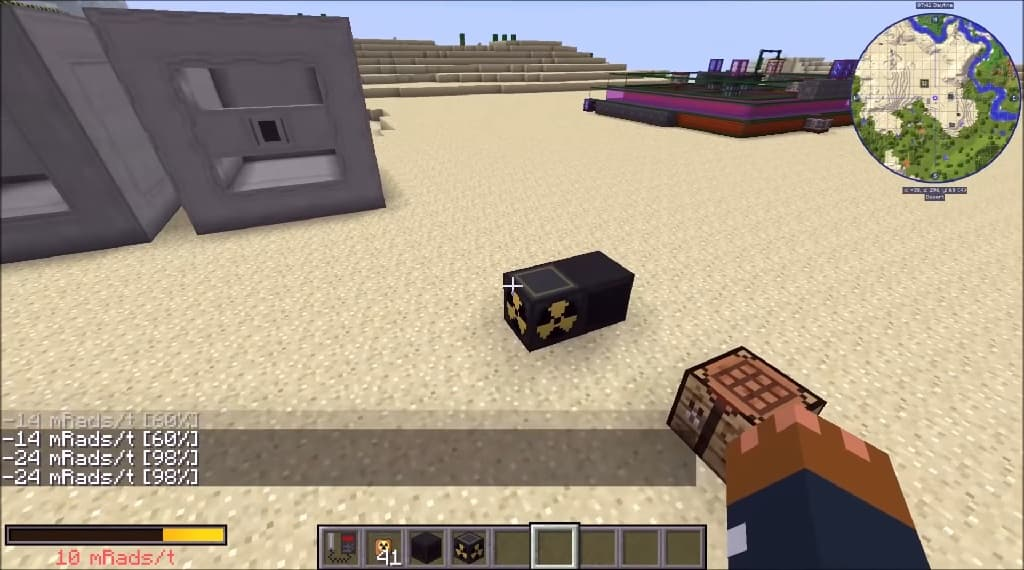 NuclearCraft mod 1.12.2 screenshots