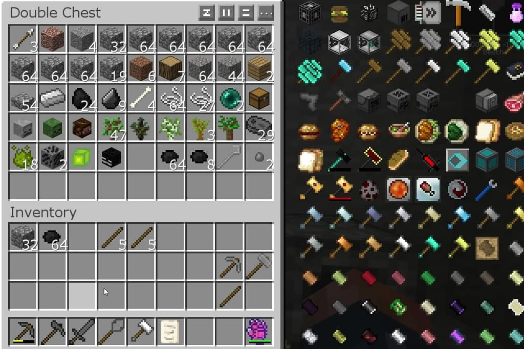 FTB Presents Stoneblock 2 inventory