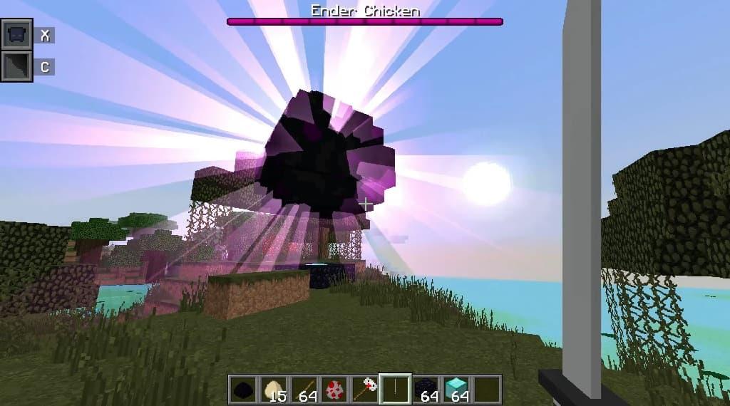 Mighty Ender Chicken 1.12.2 mod minecraft