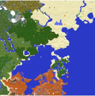 on map mod