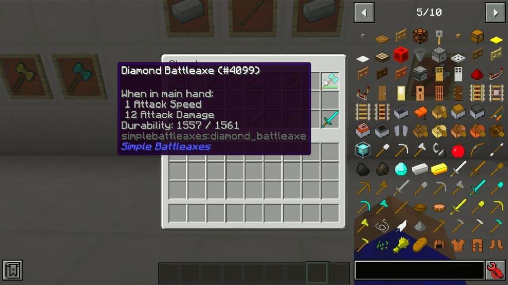 Simple Battleaxes mod screenshots 2