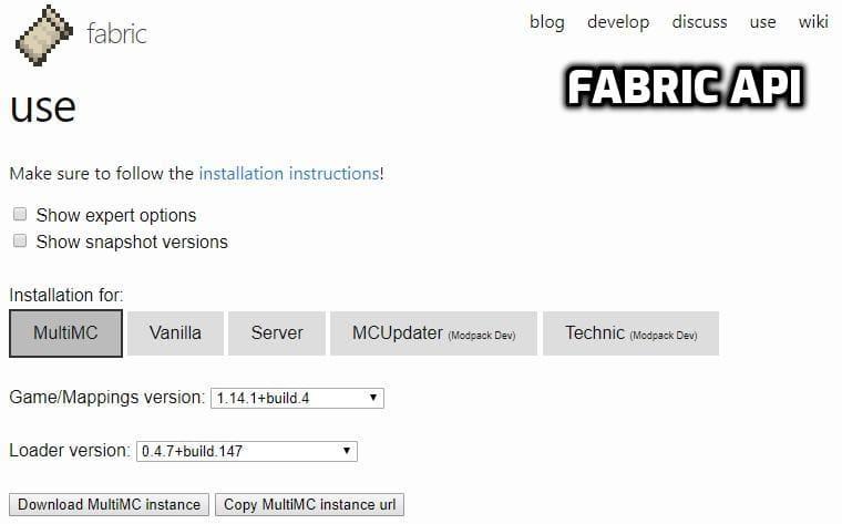 Fabric Api Mod 1 16 3 1 16 2 1 15 2 1 14 4 Minecraft11 Com
